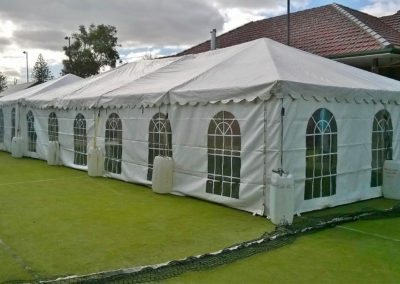 Marquee for party hire