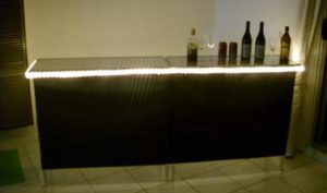 bar table for corporate event