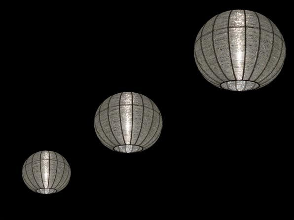 Sparkle Pendant Lighting Hire