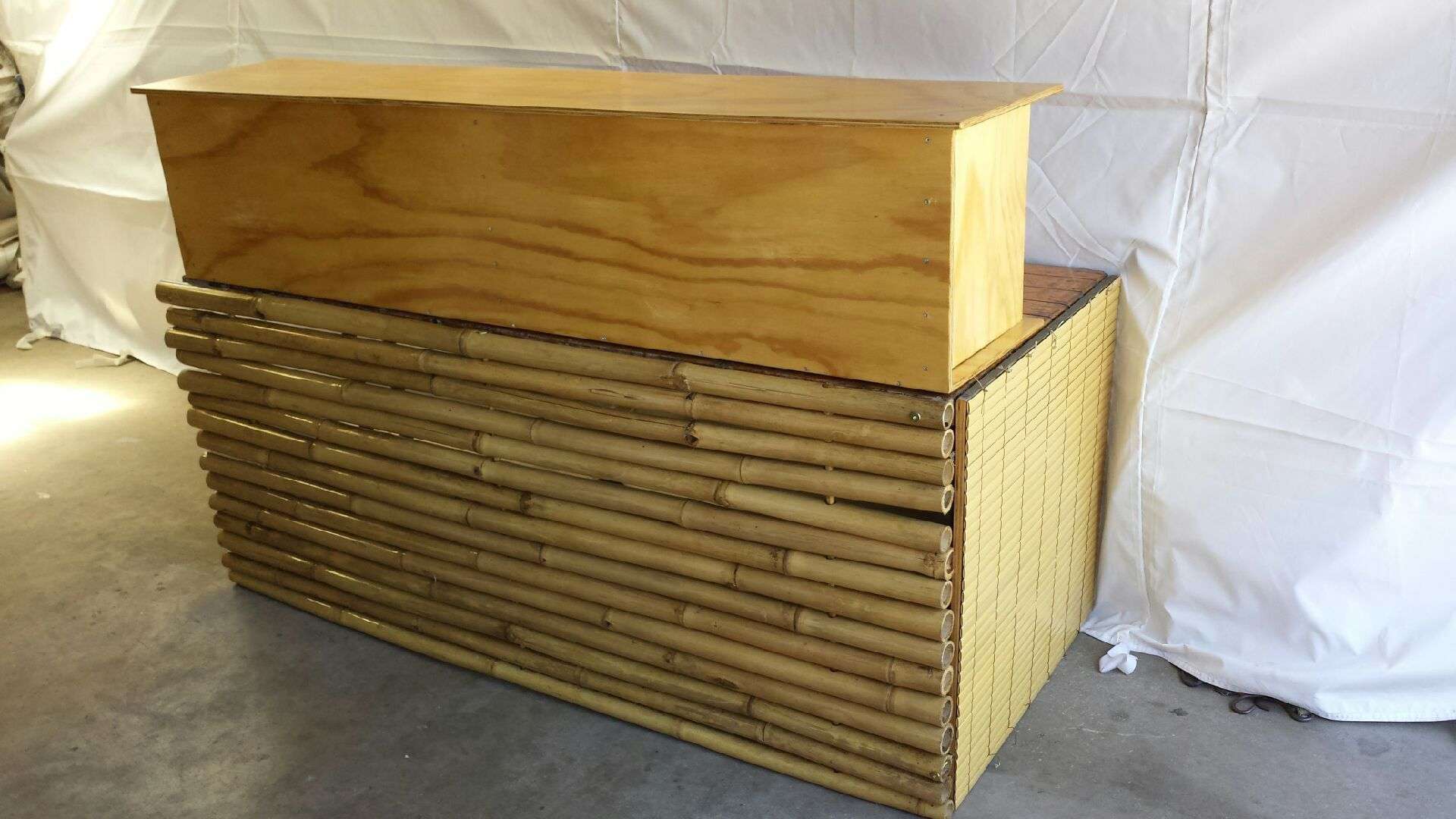 Bamboo bar hire